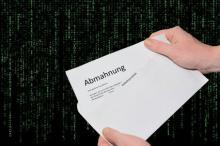 Abmahnung Rechtsanwalt WeSave Your Copyrights - Frankfurt am Main
